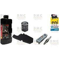 Kit de Vespa LX filtro de aire + filtro de aceite + aceite + vela Original