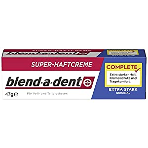 Blend-a-dent Super-Haftcreme extra stark, 3er Pack (3 x 47 g)