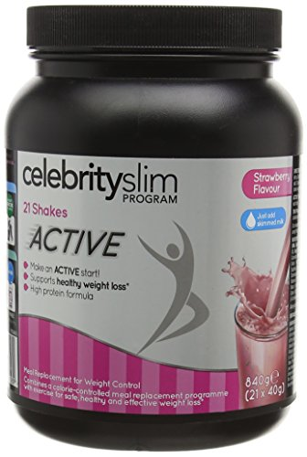 Celebrity Slim Active Strawberry Shake