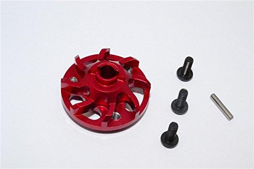 Traxxas Craniac Upgrade Pièces Aluminium Spur Gear Adapter (For Original Spur Gear) - 1Pc Set Red