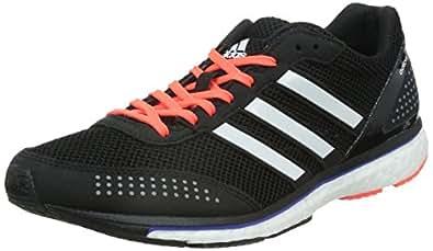 adidas Adizero Adios Boost 2, Men's Running Shoes, Black