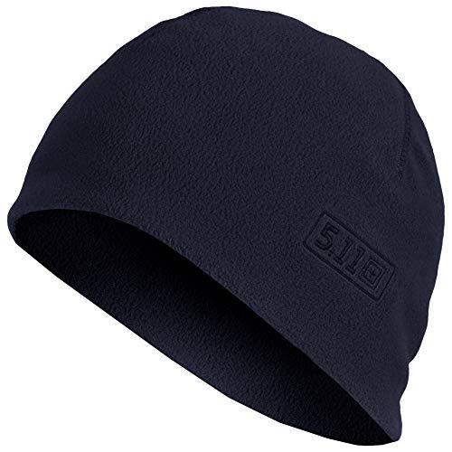 5.11 Tactical Watch Cap Cold Weather Outdoor Fleece Beanie Style 89250, Herren, Dunkles Marineblau, Large/X-Large Winter Watch Cap