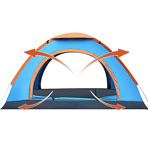 YOOFINE Tragbar Wurfzelt Wurfzelt 3-4 Personen Wasserdichtes Pop up Zelt Ultraleicht mit Tragetasche für 1-3 Person mit Haus Verschiedene Arten Aktivitäten am Strand