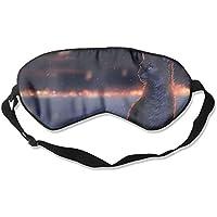 Sleep Eye Mask Cat Artwork Lightweight Soft Blindfold Adjustable Head Strap Eyeshade Travel Eyepatch E19 preisvergleich bei billige-tabletten.eu