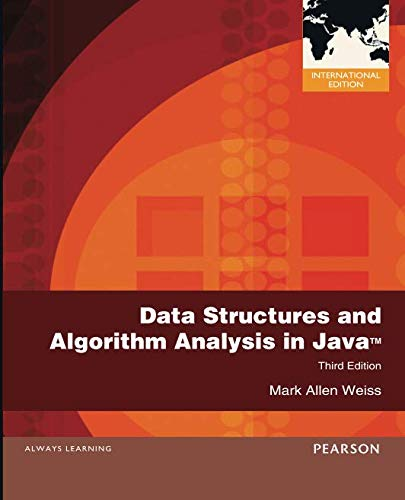 Data Structures and Algorithm Analysis in Java por Mark Weiss