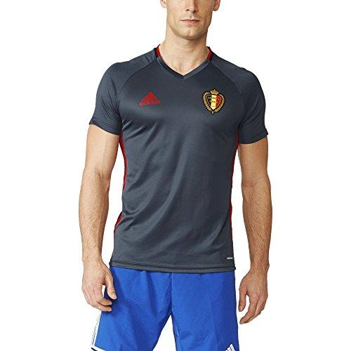 adidas Herren RBFA Belgien Trikot, Boonix/Scarle/Black, S