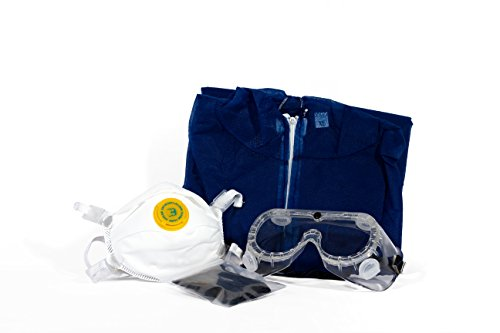 90% Off Store Breit Launch-GMS-Sicherheit Kit-Overall Anzug, Maske, Brillen und Handschuhe