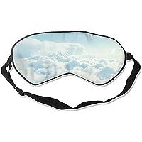 Schlafmaske, Wolkenmotiv, Himmelblau, Unisex preisvergleich bei billige-tabletten.eu