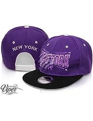 "Midi Shopping - Casquette Snapback Pas Cher Cap Hat Flatbrim ""New York"" CAP 06NY"