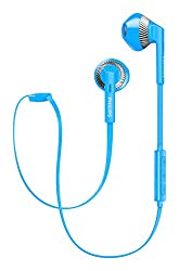 Philips MyJam FreshTones Wireless Bluetooth Headphones (Blue)