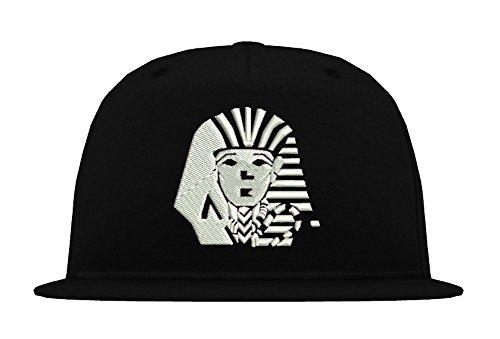 TRVPPY 5-Panel Snapback Cap Modell Last Kings, Weiß-Schwarz, B610 - Tisa Hat