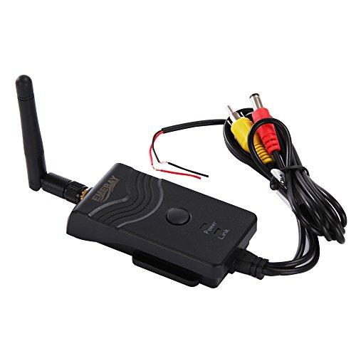 Emebay, trasmettitore wifi per telecamera da auto 903 w 2.4 ghz, video ricevitore trasmettitore per telecamera per retromarcia, supporto ios, android, interfaccia av