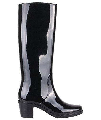 Botas Agua Moda (15561-BLK-6)