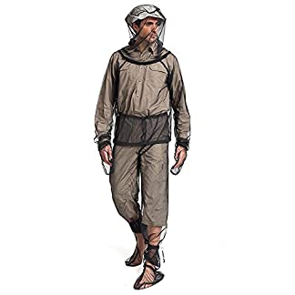 Baiwka Mosquito Clothing Trek Mosquito Repellent Suit Lightweight Visible Mesh Net Anti Mosquito Net Repellent Hooded Clothing Perfect For Outdoor Adventure Camping Fishing