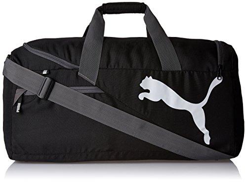 Sporttasche Laufen (Puma Unisex Sportstasche Fundamentals M, black, 61 x 29 x 31cm, 54 Liter, 073395 01)