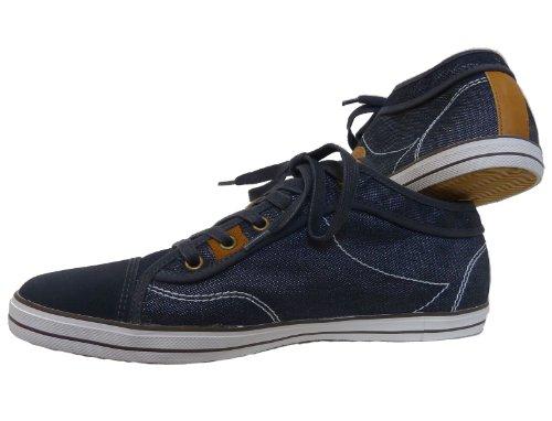 bugatti  Alfa, Chaussures de ville à lacets pour homme Bleu - Jeans-Blau