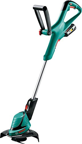 Bosch ART 23-18 LI Cordless Grass Trimmer (battery, quick charger, blade, cardboard box, cutting diameter: 23 cm, 18 V system, 2.5 Ah)