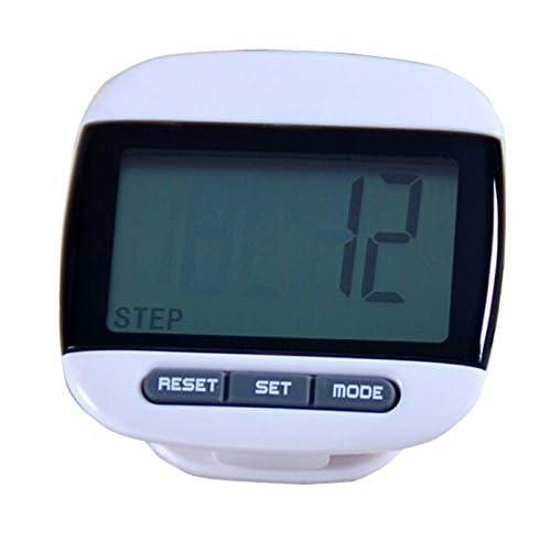 KingWinX LCD Run Step Pedometer Walking Distance Calorie Counter