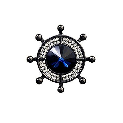 SuoLang Modischste edle Persönlichkeit Flut der Anker Ruder Uique Design Brosche Pins rücken Einfache Anhänger Männer Krawatte Paare Uique Design Brosche Pins rücken Einfache Anhänger
