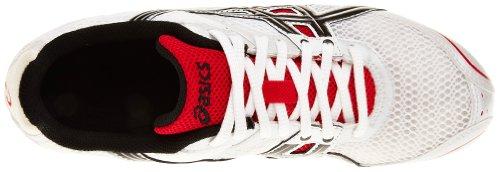 Asics Unisex Erwachsene Leichtathletikschuhe White/Black/Flame