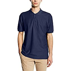 Fruit of the Loom Raglan Sleeve - Polo para hombre, color azul (marino), talla X-Large