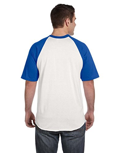 AugustaHerren T-Shirt Mehrfarbig - White/Royal