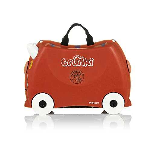 Trunki Ride-on Suitcase – Limited Edition Gruffalo (Brown)