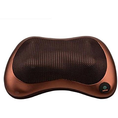 haoyishang 100–240V caliente doble uso de calefacción por infrarrojos Car Home masaje belleza dispositivo cuello masaje almohada cojín asiento cuerpo masajeador