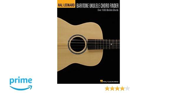 Hal Leonard Baritone Ukulele Chord Finder Over 1000 Ukulele Chords
