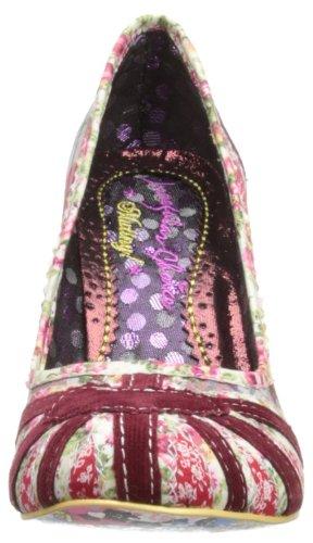 Irregular Choice - Patty, Scarpe col tacco Donna Red/Floral/Check