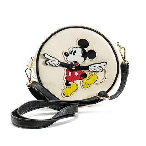 Loungefly X Disney Mickey Mouse Handtasche mit Armen und Kreisen One Size cremefarben / schwarz (Handtaschen Mickey Mouse)