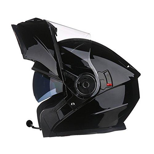Gtyw casco moto casco casco casco moto casco nero bianco lusso casco casco moto casco sportivo casco moto ece certificazione · bluetooth integrato l-3xl,3-xxl