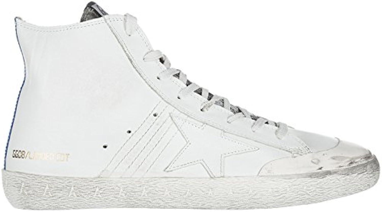 Golden Goose Herrenschuhe Herren Leder Schuhe High Sneakers Francy LIMITED EDITI