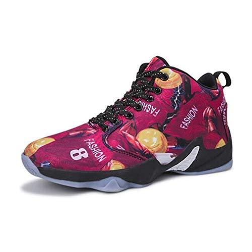 Womens Schuhe Frühling Herbst High-Top-Sneaker/Höhe Erhöhung Basketball Laufschuhe/Casual Trainer Schuhe (Farbe : B, Größe : 41)