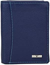 Urban Forest Orlando Blue Leather Wallet For Men