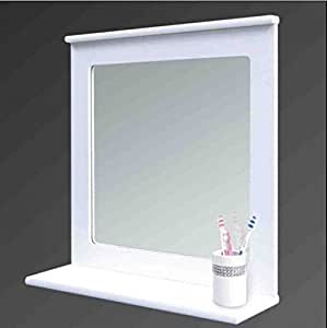 white bathroom mirror with shelf white wood bathroom mirror with shelf wall mirror with 24621