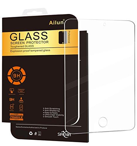 Ailun Schutzfolie für iPad Mini 4, Premium Kristallklarer Hartglas Bildschirmschutz für Apple iPad Mini 4, Ultra-klar Bildschirmschutzfolie, Panzerglas , 0.33mm, 9H Härte, Anti-Kratzen, Anti Fingerprint