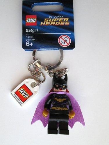 LEGO DC Comics Super Heroes Batgirl Key Chain juego de...