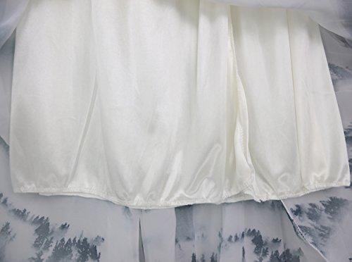 Femmes Jupe Maxi Tour de Taille Elastique Casual Boho Chic Rétro Robe Gris