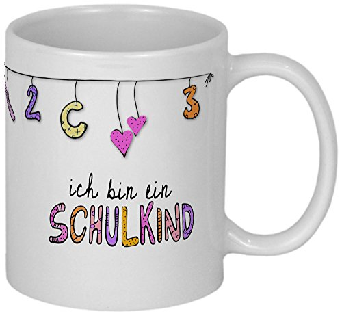 My Sweetheart® Einschulung | hübsche PERSONALISIERBARE Tasse | Schulanfang Geschenk Mädchen - 2