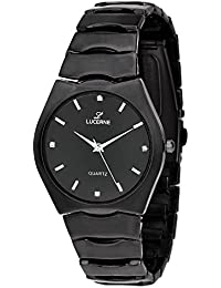 LUCERNE Analogue Black Tonneau Designer Dial Metal Strap Casual Gifts Watch For Men A Modern Men Watch Gifts For...