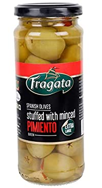 Fragata Spanish Green Olives Stuffed with Minced Pimiento Queen, 335g