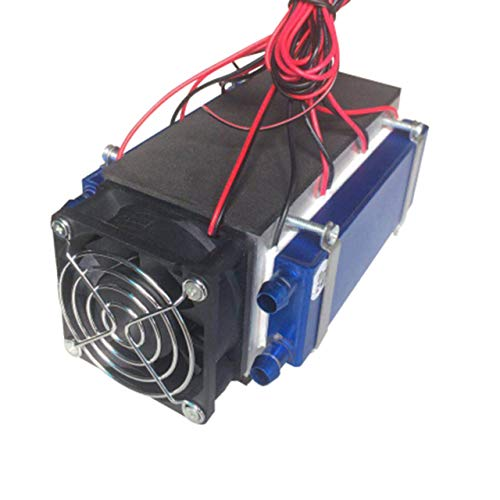 Jasnyfall Peltier-Kühl 12V 576W 6-Chip DIY Thermoelektrische Kühlbox,Schwarz