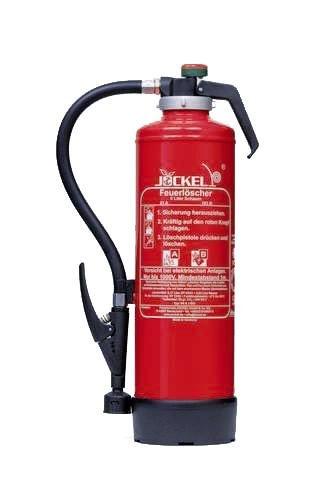 Preisvergleich Produktbild Jockel Feuerloescher SK6J Bio-Aufladekartuschenlöscher Edition Classic, 6 l mit Löschmittelkartusche