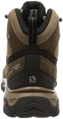 Salomon Evasion Mid Gtx Herren Trekking- & Wanderstiefel Braun (Absolute Brown-X/Burro/Dark Navajo)