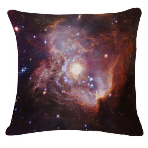 damuyas abstracto agua Galaxy Y Nube de color LINO y ALGODÓN funda de almohada de decoración para el hogar cushion cover 18