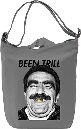 Been Trill Golden Teeth Old Man Purple Swag Real Goldie Leinwand Tagestasche Canvas Day Bag| 100%...