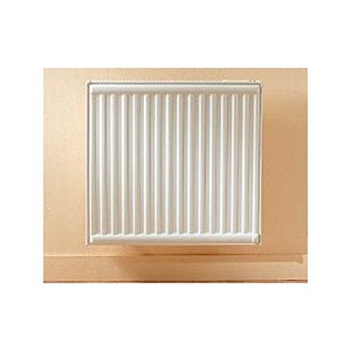 Radiateur electrique 1000W fluide caloporteur 745X600mm panneau double blanc thermostat electronique TEON LVI 3646102