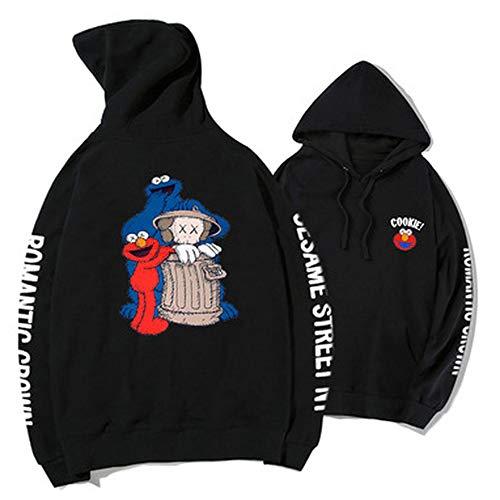 Hoodie Sesame Street Joint Name KAWS Lose Männer Und Frauen Liebhaber Pullover Mantel 12-M 12m Sesame Street
