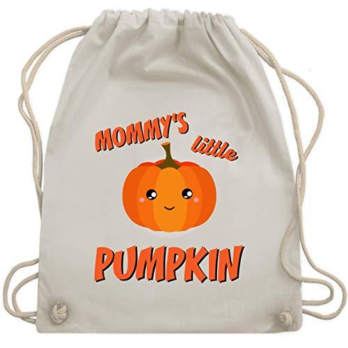 mmys little Pumpkin Halloween - Unisize - Naturweiß - WM110 - Turnbeutel & Gym Bag ()